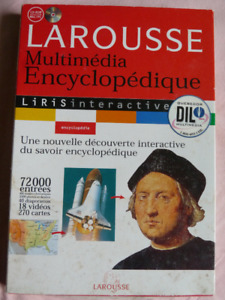French Multimedia Encyclopedia Software