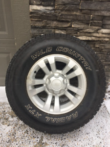 Ford Ranger Rims and Tires 255 70 R16 - Fits 2007 to 2011