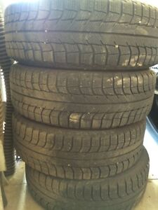 Michelin X-Ice 1956015 on rims