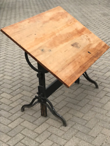 Antique draughting table