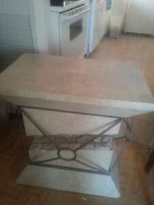 Table de marbre