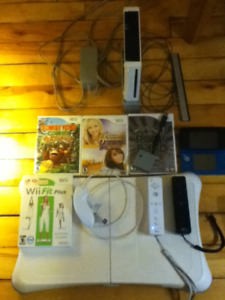 Wii plus Accessories and games $90 OBO