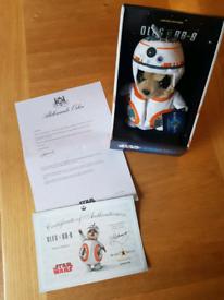Meerkat Star Wars Oleg as BB-8