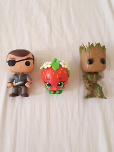 Rare Exclusive Funko Pops 3 Vinyl Figures