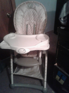 High Chair Safety First $20. Firm