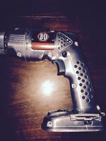 Drill -Black and Decker 14.4 V 85th Anniv Vintage Stainless $60