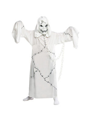 New Boys Cool Ghoul Ghost Zombie Halloween Fancy Dress Costume Kids Child Outfit