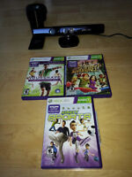 Kinect with 3 Games and TV Mount