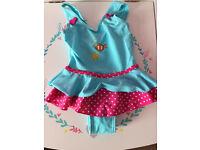Baby Girl swim suit NWOT
