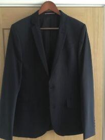 Men's Navy Blue Suit