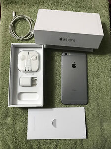 Unlocked Apple Iphone 6 Plus with Original Box and Cords