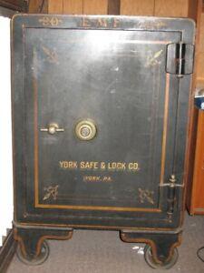 Vintage York Safe