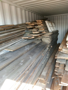 Barn board and beams for sale. Stored indoors. Top quality
