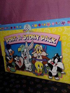 Port a Story Pack-Big Face Books-Box set-Baby Looney Tunes