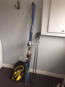 Mens Head Skis, Boots and Poles
