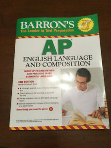 Barron's AP English Language and Composition 4th Edition