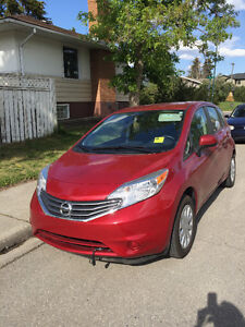 2014 Nissan Versa Note, Manual, only 16k Km!!!