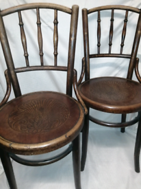 1890s Art Nuovo Classic Cafe Chair
