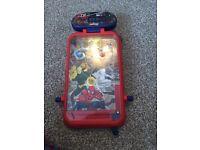 Small Spiderman pin ball machine
