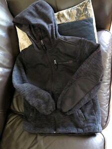 Boys spring jacket, size 7/8, fleece coat