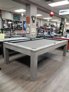 BRUNSWICK POOL TABLES FOR SALE FAMILY REC STORE