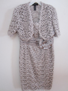Gorgeous Mother of the Bride Dress with Matching Jacket- SZ 1 0