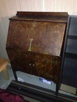 Antique hutch/ shelving unit