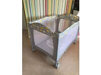 Mothercare Travel Cot Sweet Dreams