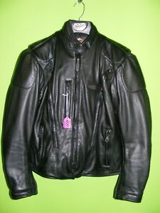 Ladies Harley Leather Jacket - Large at RE-GEAR Kingston Kingston Area image 1