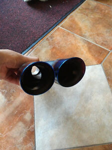 """Dual 3"""" Double Wall Angle Tip Blue Flame Tip ID 2.25"""" exhaust London Ontario image 3"""