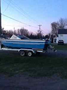19ft aluminum springbrooke $3000 or try your trade