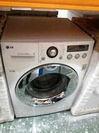 LG 8KG WASHING MACHINE WHITE WITH WARRANTY AT RECYK APPLIANCES