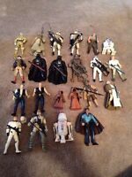 Star Wars action figures $5 each