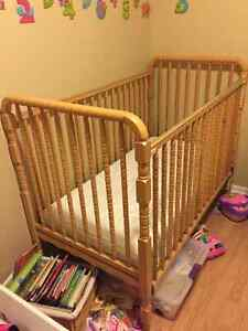 Crib, and change table for sale