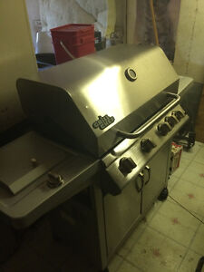used natural gas grill chef stainless bbq