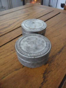 Vintage film cases