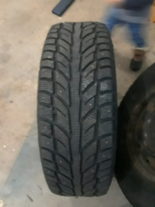 Studded Winter Snow Tires