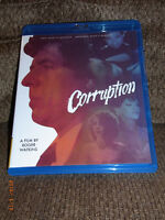 CORRUPTION (BONUS - LHODES) (BLU-RAY/DVD,2015) - FREE SHIPPING!