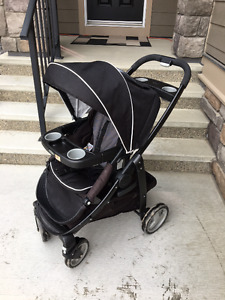 Graco Click Connect Stroller - Onyx Black