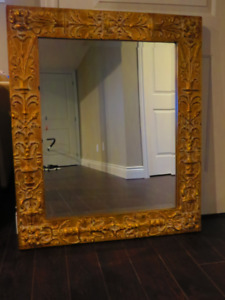 Bowring Mirror With Matching Shelf