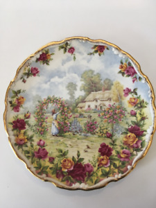 Royal Albert Old Country Roses Anniversary Plate