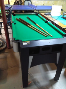 Combo Air Hockey and Pool Table