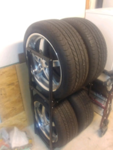 18'' SSW Rims with Continental tires