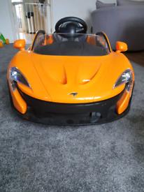 Mclaren 8v electric car
