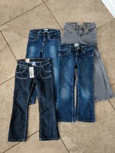 Lot of 5T jeans girls