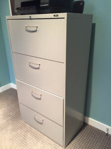 Staples Lateral File Cabinet 4 Drawer
