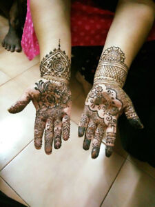 Professional Henna Services- Inked by Sana
