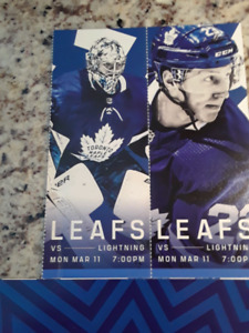 March 11 Tampa vs Toronto Row 5