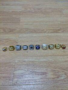 NHL Replica Championship Rings