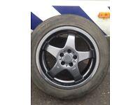 5x100 VW alloy wheels